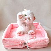 Teddy Bears handmade. Livemaster - original item The kitten Teddy. Handmade.