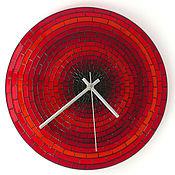 Для дома и интерьера ручной работы. Ярмарка Мастеров - ручная работа Часы настенные «Кирпичики-2». Handmade.