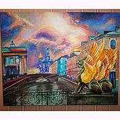 Интерьерная картина Санкт-Петербург- город счастья