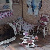 Куклы и игрушки ручной работы. Ярмарка Мастеров - ручная работа Кукольная мебель, спаленка, ручная сборка, декупаж.. Handmade.