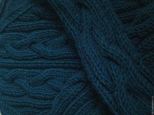 Кофты и свитера ручной работы. Ярмарка Мастеров - ручная работа. Купить свитер объемными косами. Handmade. Морская волна