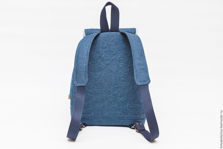 210a19732630 ... Детские аксессуары ручной работы. Детский джинсовый рюкзачок Маленькая  принцесса Николь. Катя Баланина (Сумки ...