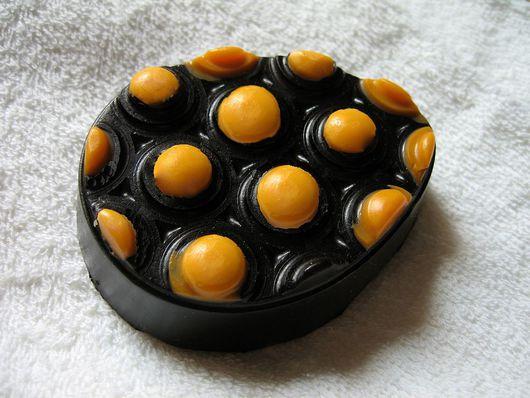 """Мыло ручной работы. Ярмарка Мастеров - ручная работа. Купить Мыло """"шоколадно-апельсиновое наслаждение"""". Handmade. Очищающее мыло"""