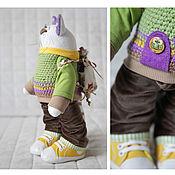 Куклы и игрушки ручной работы. Ярмарка Мастеров - ручная работа Игрушка текстильная Кот путешественник. Handmade.