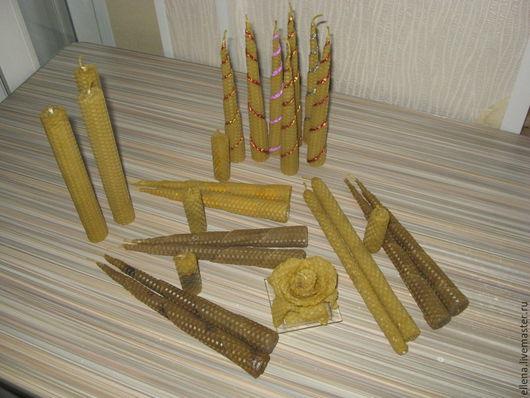 Свечи ручной работы. Ярмарка Мастеров - ручная работа. Купить Вощиные свечи ручной работы. Handmade. Свечи, массаж, вощина