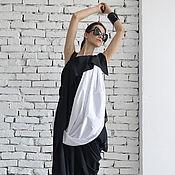 Одежда ручной работы. Ярмарка Мастеров - ручная работа Платье вечернее, платье черное. Handmade.