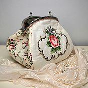 Косметички ручной работы. Ярмарка Мастеров - ручная работа Авторская сумочка в ретро стиле. Handmade.