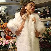 "Одежда ручной работы. Ярмарка Мастеров - ручная работа Вечерняя накидка ""White Swan"". Handmade."