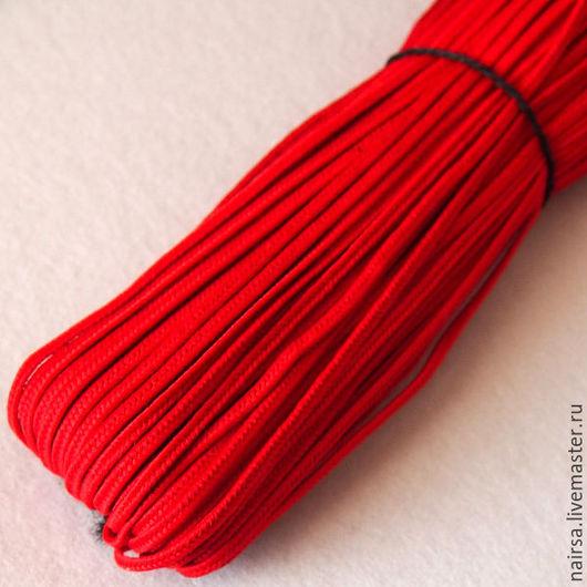 Турецкий сутаж. Цвет красный