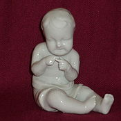 Винтаж handmade. Livemaster - original item The CRYING BOY CHILD, SUSSMAN or pre-war HORODNYTSIA Rare series. Handmade.