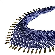 Украшения handmade. Livemaster - original item Scarf-beaded necklace