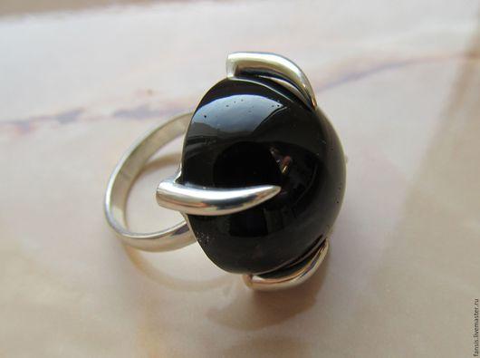 Кольца ручной работы. Ярмарка Мастеров - ручная работа. Купить Кольцо с тёмным дымчатым кварцем. Handmade. Черный, ручная работа