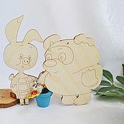 Материалы для творчества handmade. Livemaster - original item Winnie the Pooh and Piglet. Handmade.