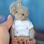 Куклы и игрушки ручной работы. Ярмарка Мастеров - ручная работа Little Bunny (11cm). Handmade.