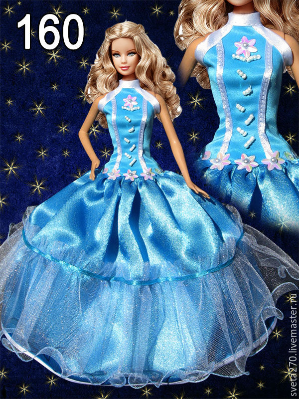 Фото кукол в бальных платьях