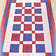 Текстиль, ковры ручной работы. Ярмарка Мастеров - ручная работа. Купить Одеяло лоскутное пэчворк 130 х 180 см. Handmade.
