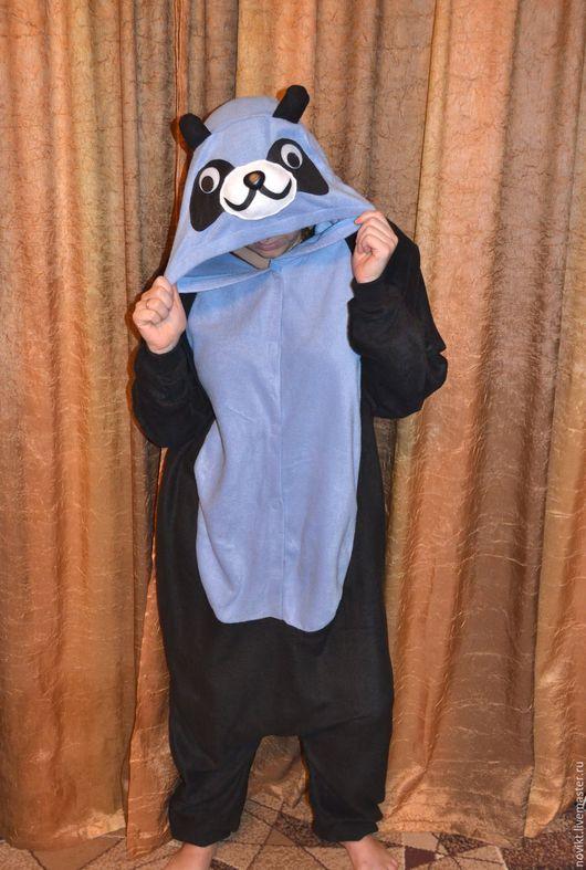 Костюмы ручной работы. Ярмарка Мастеров - ручная работа. Купить Пижама домашний костюм панда кигуруми карнальный костюм разноцветный. Handmade.