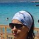 Повязки ручной работы. Такое синее море.... Света ЛУЧ. Ярмарка Мастеров. Аксессуар, бандана, лето