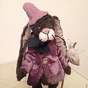 Куклы и игрушки ручной работы. Ярмарка Мастеров - ручная работа заяц Петь. Handmade.