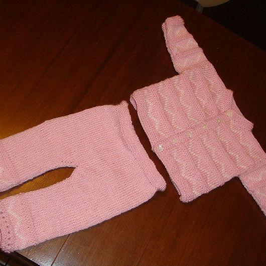 Одежда для девочек, ручной работы. Ярмарка Мастеров - ручная работа. Купить штанишки и кофточка. Handmade. Комплект для девочки, детские штанишки