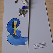 Канцелярские товары ручной работы. Ярмарка Мастеров - ручная работа Закладка для книг №4. Handmade.