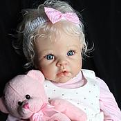 Куклы и игрушки ручной работы. Ярмарка Мастеров - ручная работа Кукла реборн Криста-4. Handmade.