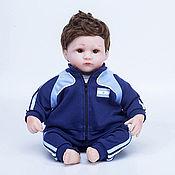Куклы Reborn ручной работы. Ярмарка Мастеров - ручная работа Кукла Reborn, футболист Аргентина (B). Handmade.