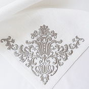 Подарки к праздникам handmade. Livemaster - original item Napkin with the volume embroidery