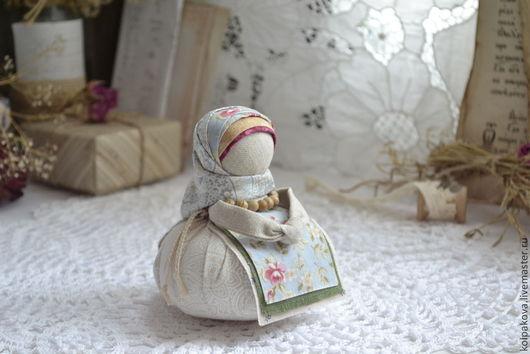 """Народные куклы ручной работы. Ярмарка Мастеров - ручная работа. Купить кукла-оберег Благополучница """" Винтажная роза"""".. Handmade."""