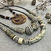 handmade. Livemaster - original item Jewelry sets: in the style BOHO. Handmade.