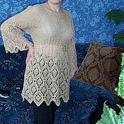Одежда ручной работы. Ярмарка Мастеров - ручная работа Кофточка вязаная крючком. Handmade.
