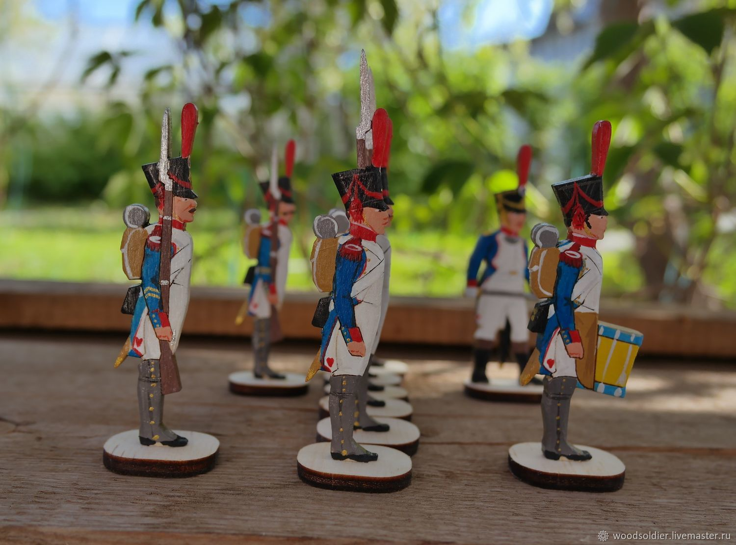 Soldiers in the form of Napoleonic wars, Military miniature, Izhevsk,  Фото №1