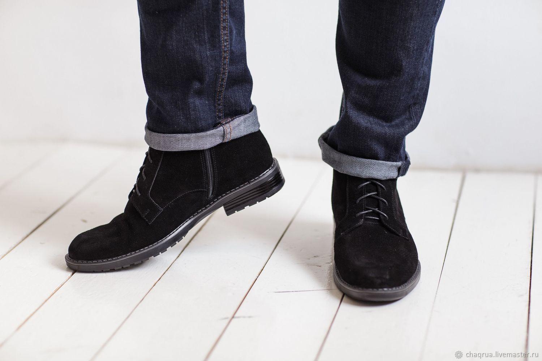 da7e6e1cb Обувь ручной работы. Мужские ботинки с квадратным носком Chaqrua. Chaqrua  (Шакруа).