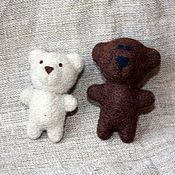Куклы и игрушки ручной работы. Ярмарка Мастеров - ручная работа Мини-мишки. Handmade.