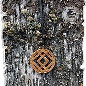 Русский стиль handmade. Livemaster - original item Pendant in a car or a house BATHED.. Handmade.