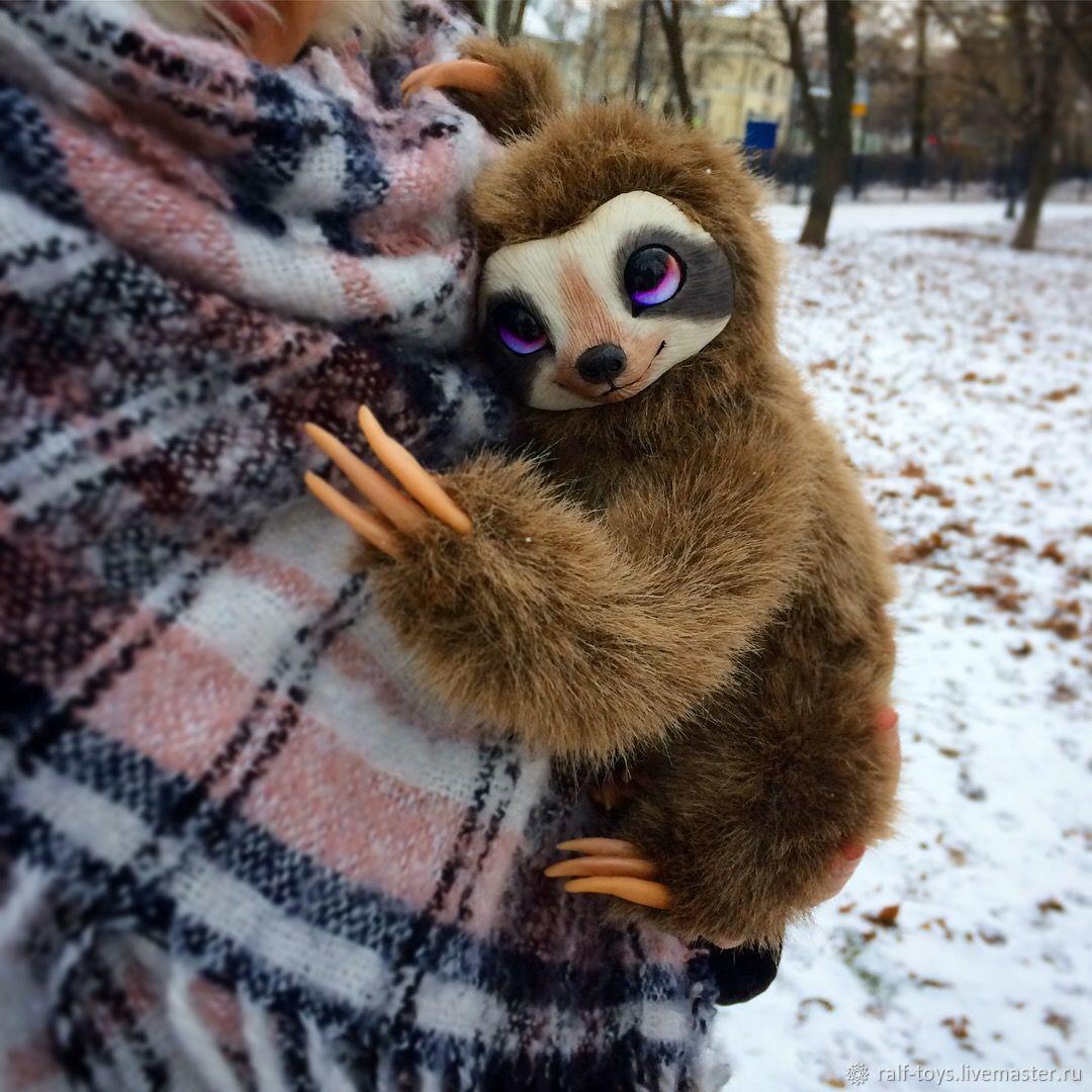 Игрушка ленивец своими руками фото 50