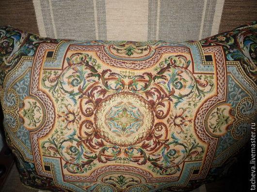 Текстиль, ковры ручной работы. Ярмарка Мастеров - ручная работа. Купить Комплект  гобеленовых подушек --роккоко. Handmade. Комбинированный, Подушки