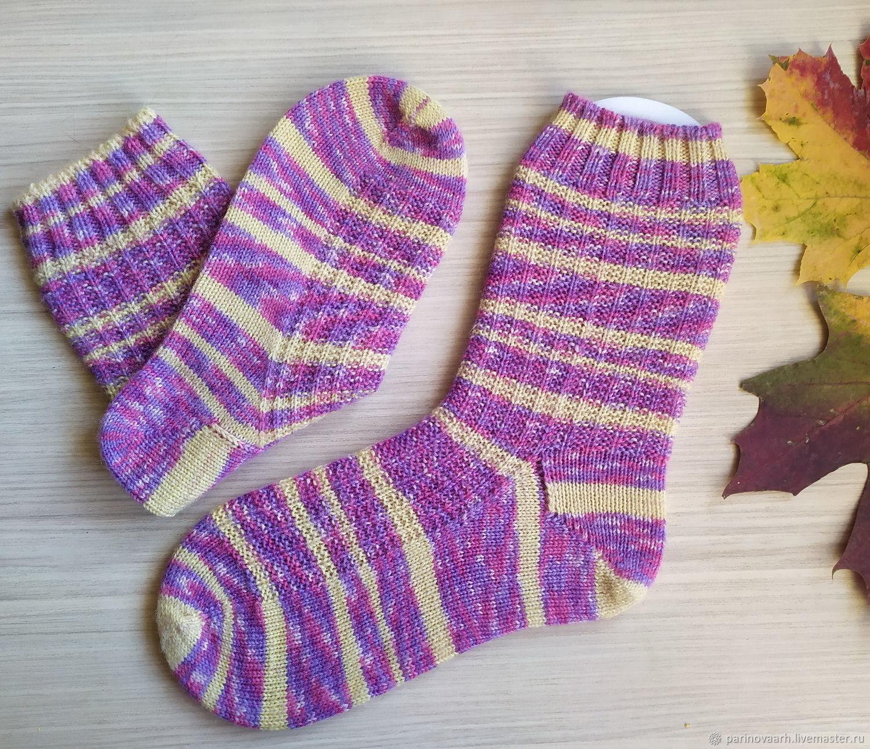 Теплые мериносовые носки для хорошего настроения, Носки, Санкт-Петербург,  Фото №1
