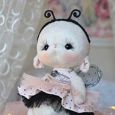 Куклы и игрушки ручной работы. Ярмарка Мастеров - ручная работа Зайка интерьерный (dolls_ponomareva). Handmade.