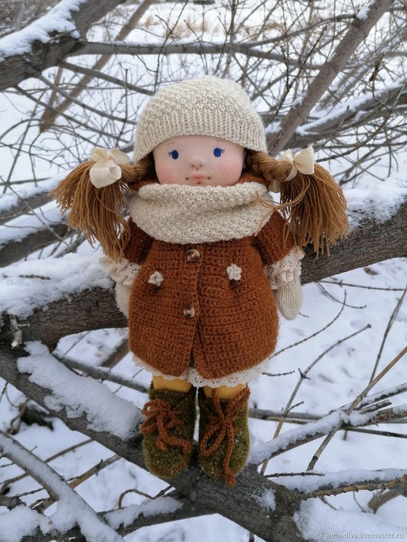 """Вальдорфская кукла """"Ягодка"""", Вальдорфские куклы и звери, Тюмень,  Фото №1"""