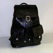 Сумки и аксессуары handmade. Livemaster - original item Backpack leather 776. Handmade.