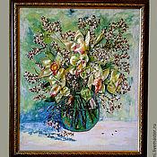 Картины и панно ручной работы. Ярмарка Мастеров - ручная работа Орхидеи. Handmade.