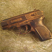 """Косметика ручной работы. Ярмарка Мастеров - ручная работа Мыло """"Пистолет 3D"""". Handmade."""