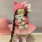 Тыквоголовка ручной работы. Ярмарка Мастеров - ручная работа Текстильная кукла ручной работы. Handmade.