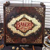 """Хлебницы ручной работы. Ярмарка Мастеров - ручная работа """"Bakery"""" хлебница. Handmade."""