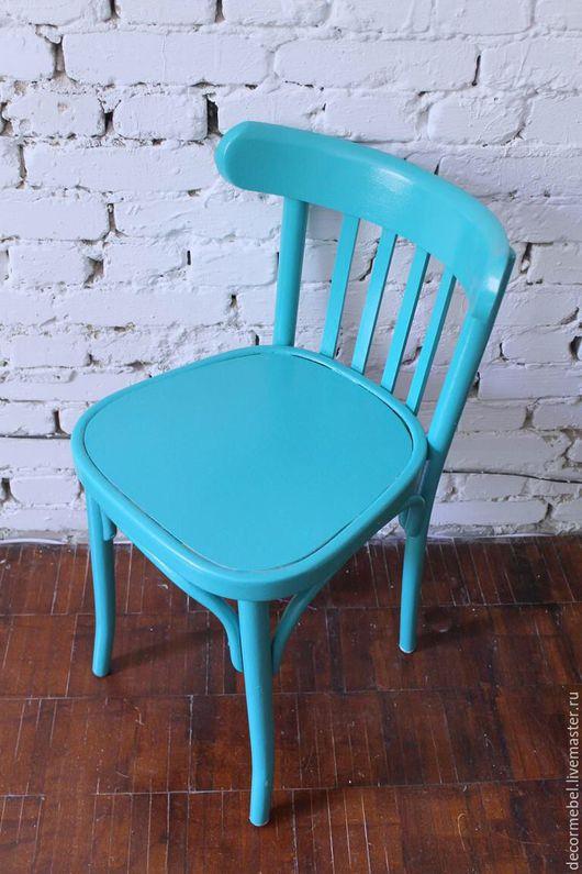 Мебель ручной работы. Ярмарка Мастеров - ручная работа. Купить Венский стул бирюзовый. Handmade. Бирюзовый, кухня, современный интерьер