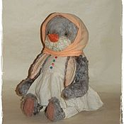 Куклы и игрушки ручной работы. Ярмарка Мастеров - ручная работа Снеговушка. Handmade.