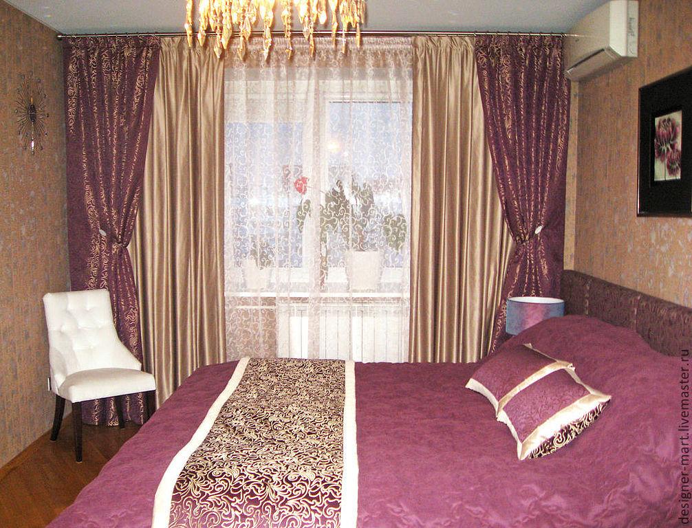 шторы и покрывало в комплекте для спальни беларусь Www