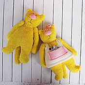 Куклы и игрушки ручной работы. Ярмарка Мастеров - ручная работа Солнечные котики по фото. Handmade.
