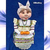 Русский стиль ручной работы. Ярмарка Мастеров - ручная работа Кукла Баба на чайник. Handmade.